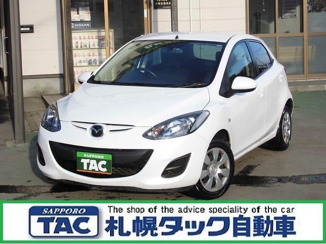デミオ 13C 4WD  ★ナビ ETC★